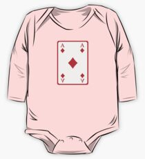 Poker ace diamonds One Piece - Long Sleeve