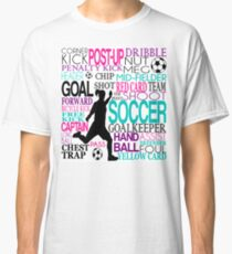 Words of football 578 Classic T-Shirt