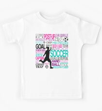 Words of football 578 Kids Clothes