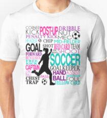 Words of football 578 T-Shirt