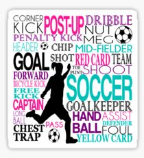 Words of football 578 Sticker