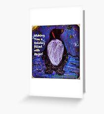 Magical Holiday - by Lola Greeting Card