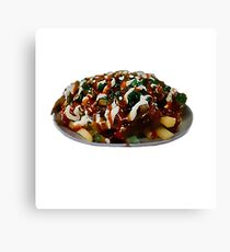 Halal Snack Pack  Canvas Print