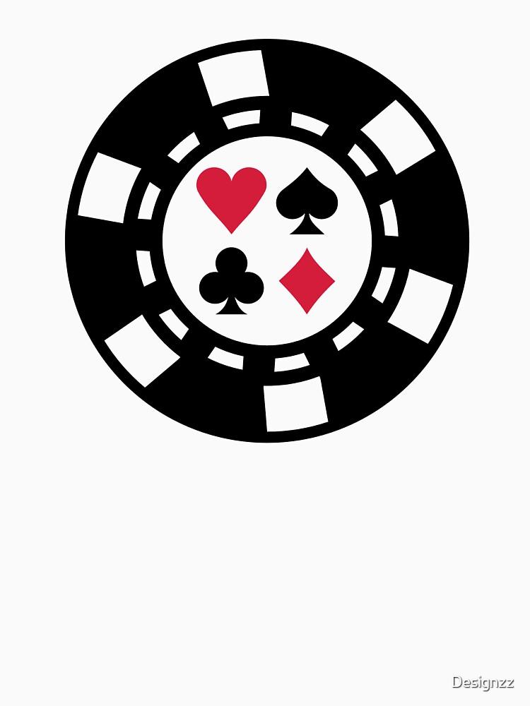 Poker chips casino by Designzz