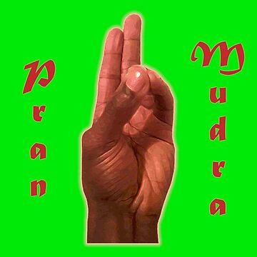 Pran Mudra - The Gesture of Life by Dee-Vigga