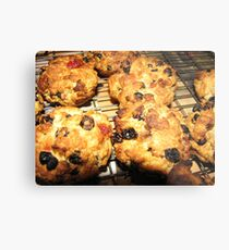 Rock Cakes Hot From The Oven Metal Print