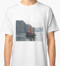 Boat on Halong Bay Classic T-Shirt