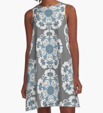 Tiger Lilies and Esoteric Kittens A-Line Dress