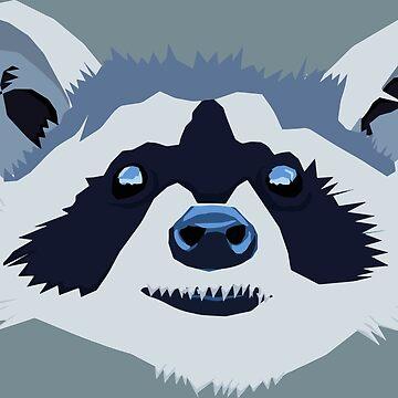 Vector Raccoon  by Morware