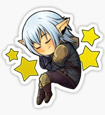 Sleeping Haurchefant Sticker Sticker