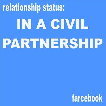 FARCEBOOK IN A CIVIL PARTNERSHIP by Churlish1