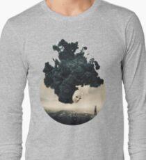 The Selfie A Dark Surrealism Long Sleeve T-Shirt