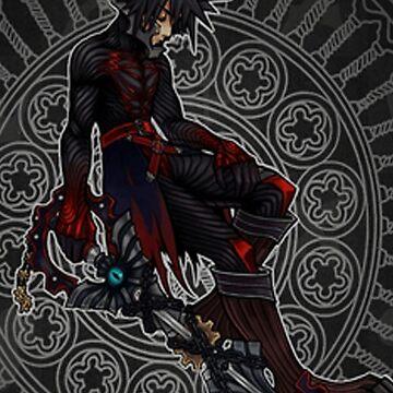 anime kingdom heart dark by cellorart