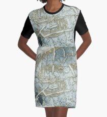 Time Lapse Graphic T-Shirt Dress