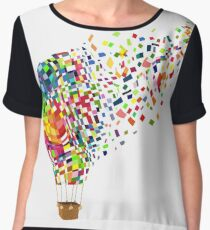 Air balloon. Chiffon Top