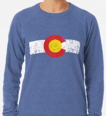 Vintage Colorado Flag Leichtes Sweatshirt