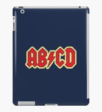 Vintage ABCD Rock & Roll iPad Case/Skin