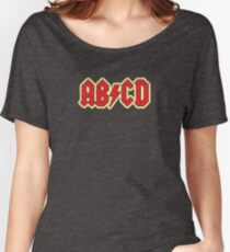 Vintage ABCD Rock & Roll Women's Relaxed Fit T-Shirt