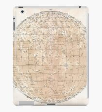 Vintage Map of The Moon (1898) iPad Case/Skin