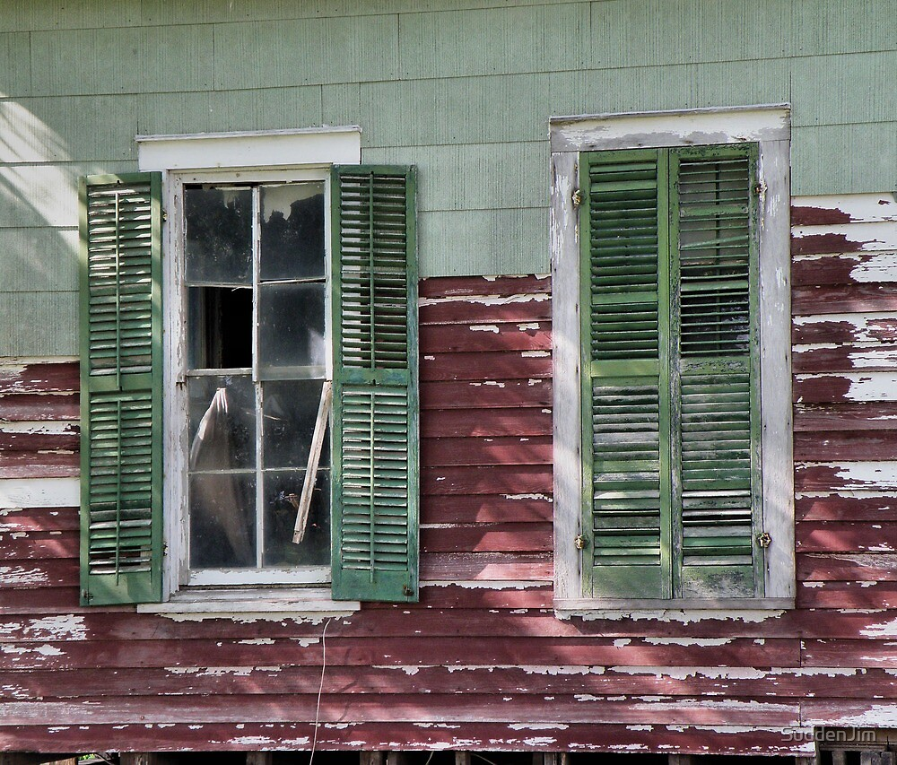 Windows, Red and Green by SuddenJim