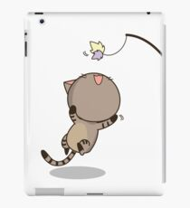 Cat is playing iPad Case/Skin