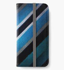 Fabric Texture Tech Pattern iPhone Wallet
