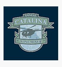 Vintage Catalina WIne Mixer - POW! Photographic Print