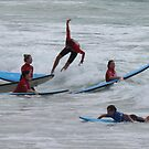 Surfing Aus Style by KazM
