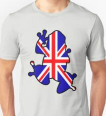 British Union Jack Frog T-Shirt