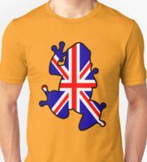 British Union Jack Frog Unisex T-Shirt