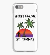 Secret Harbor St. Thomas iPhone Case/Skin