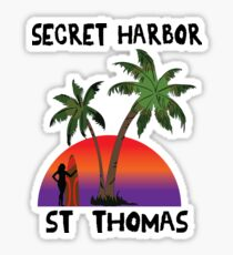 Secret Harbor St. Thomas Sticker