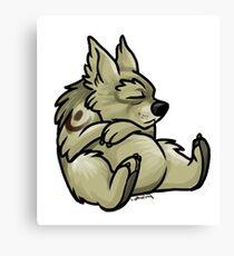 Druid Cuties - Bear Canvas Print