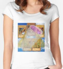 Based Exodia Women's Fitted Scoop T-Shirt