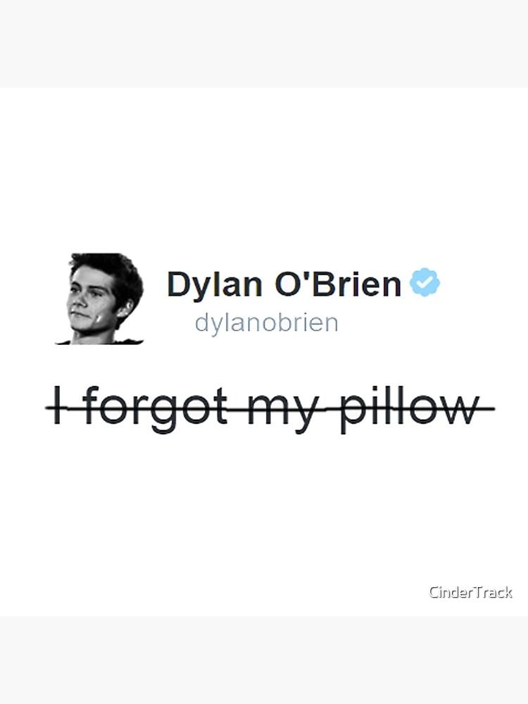 Teen Wolf - Dylan O'Brien - Kissen von CinderTrack