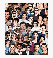 dylan o'brien collage Photographic Print