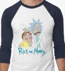 Rick And Morty | Eyes Wide Psychedelic T-Shirt