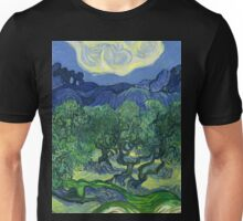 The Olive Trees by Vincent Van Gogh Unisex T-Shirt