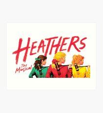 Lámina artística Heathers: The Musical