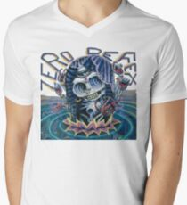 Zero Defex Caught in a Reflection Mens V-Neck T-Shirt