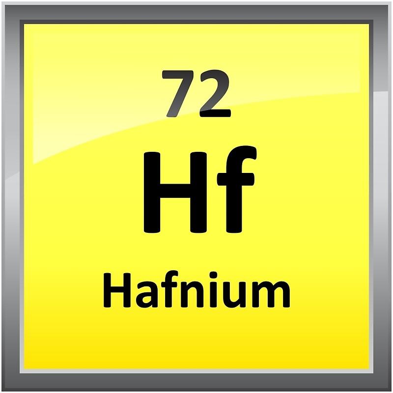 Hafnium periodic table element symbol framed prints by sciencenotes hafnium periodic table element symbol by sciencenotes urtaz Choice Image
