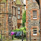 Well Court, Dean Village by Kasia-D