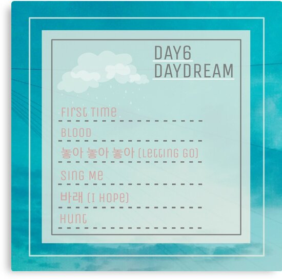 Day6 daydream songs