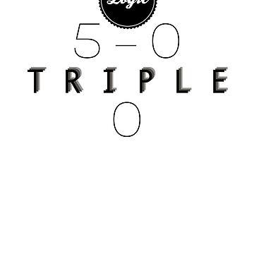 5-0 Triple 0 Lyrics  by ethancs6