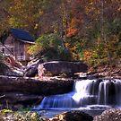 Glade Creek Grist Mill by thatstickerguy