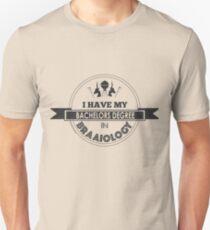 Braaiology - It is a BRAAI never a BBQ Unisex T-Shirt