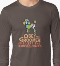 Obey The Groomer Long Sleeve T-Shirt