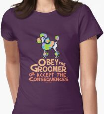Obey The Groomer Women's Fitted T-Shirt
