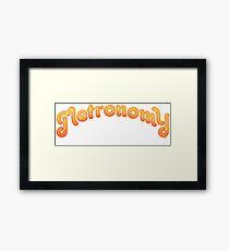 Metronomy Band Logo Framed Print