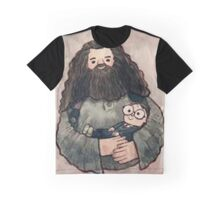 hagrid and harry Graphic T-Shirt
